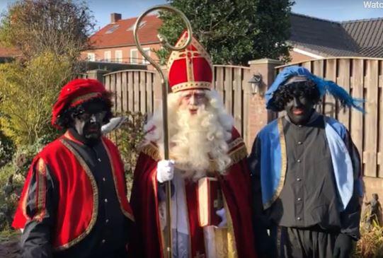 Belangrijke boodschap van Sinterklaas (FILMPJE)