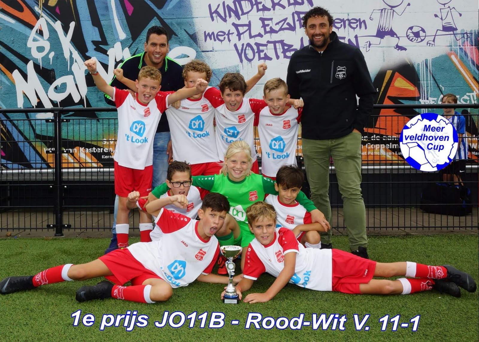 JO11 kampioen Meerveldhoven Cup!