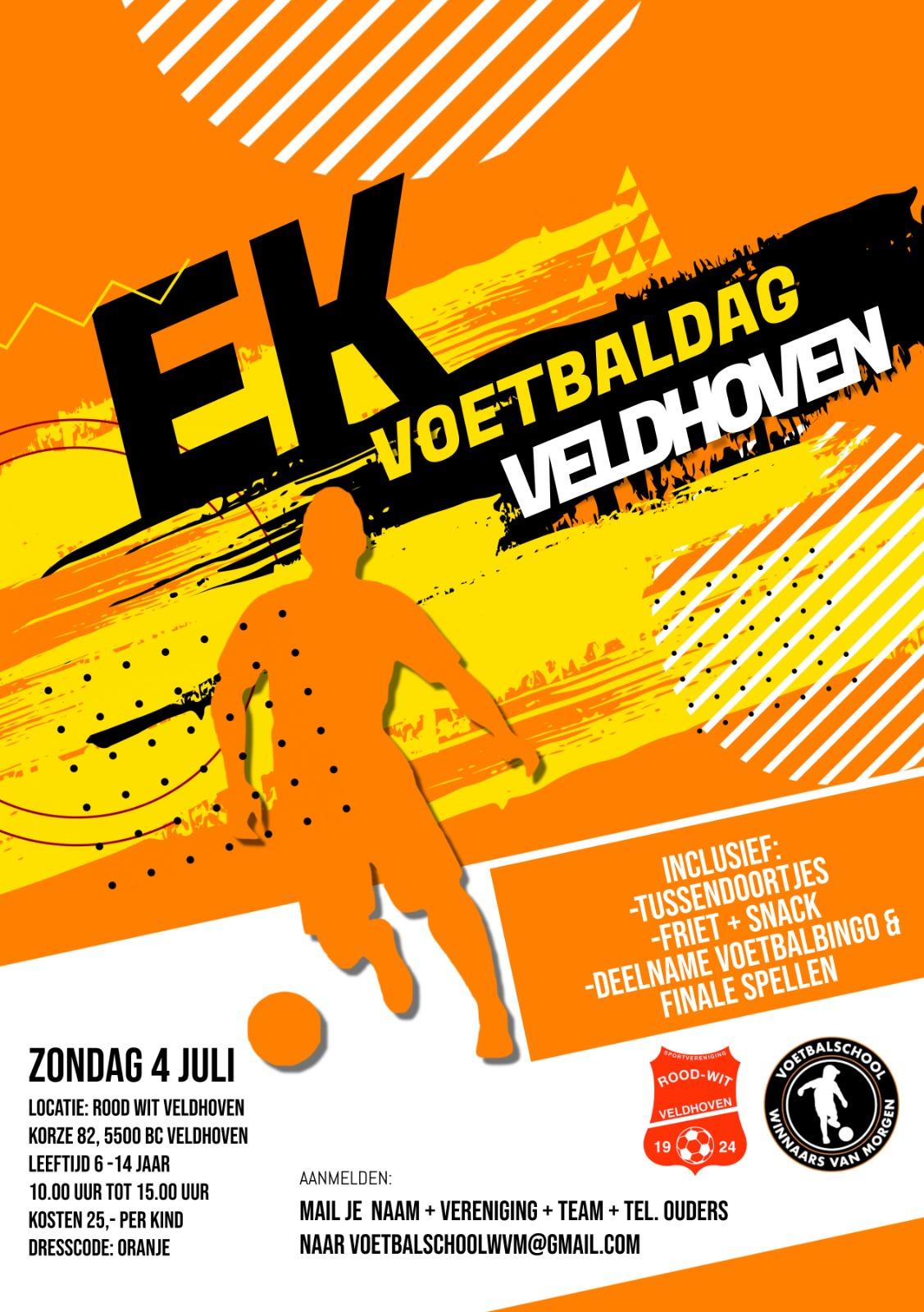 1e editie van de 'EK voetbaldagen Veldhoven' - Update