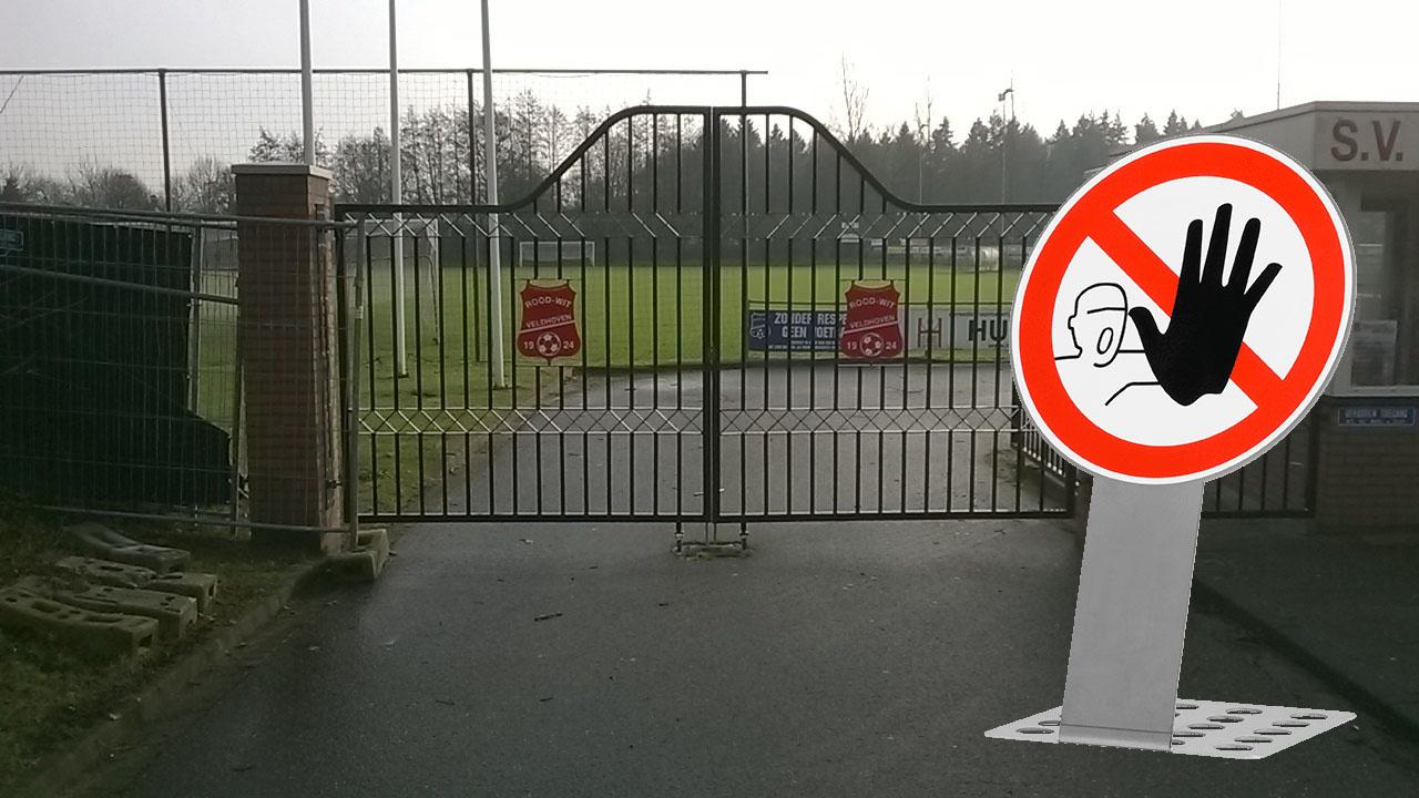 [UPDATE] Houd je aan de richtlijnen; sportparken zijn gesloten!