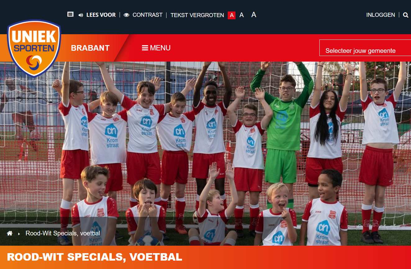 Rood-Wit Specials, voetbal