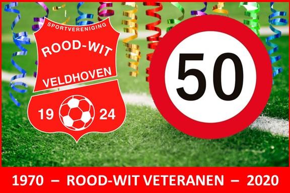50 jaar Rood-Wit Veteranen!